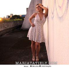 Romantic dress - vestido romântico