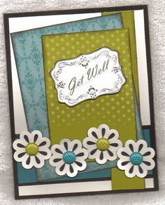 Four Frames Get Well by lindahur - Cards and Paper Crafts at Splitcoaststampers