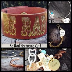 Are you done shopping for your family? Give them the gift of inspiration!  Hope Love Be Rad Hide your crazy All messages great for the family❤️ www.harmoniecuffs.com *soulful gifts *fast shipping 2-3 days * One of a kind products for your authentic people in your life