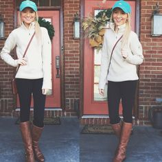 20 Cute And Preppy Date Night Outfit Ideas - this is such a cute date night outfit for a hockey game!<br> Cute and preppy date night outfit ideas for your next night on the town with your guy! These outfits ideas are perfect for that first date! Adrette Outfits, Preppy Outfits, Night Outfits, Preppy Fall Outfits Southern Prep, Games Outfits, Preppy Southern, Simply Southern, Fashion Outfits, Preppy Mode