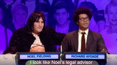 Noel Fielding and Richard Ayoade