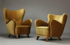 Comfy armchair 1930'