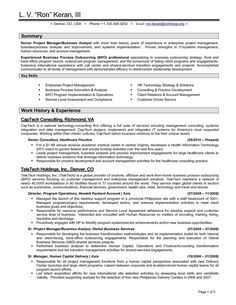 sample resume multiple positions same company business