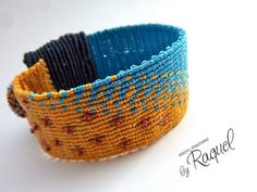 Capitol Inspired Micromacrame Bracelet by Raquels Designs, via Flickr....tutorials available for $.
