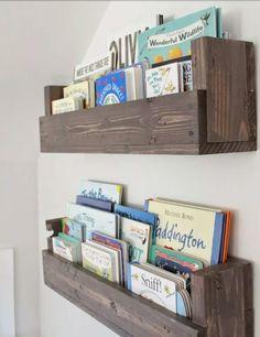 Kinderenkamer idee voor boekjes