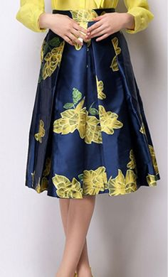 Bold Floral Print Modest Skirts by Apostolic Clothing