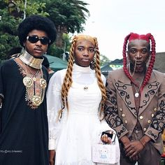 The Black Outcasts Of The Afropunk Movement Afro-punk defined. Look Street Style, Street Styles, Look Fashion, Fashion Art, Fashion Tips, Look Cool, Cool Style, Black Power, Afro Punk Fashion