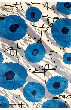 Momeni Koi Koi Blue Rug