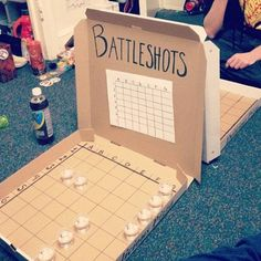Battleshots - genius drinking game!