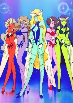 Sailormoon. Episode 45: The Sailor Senshi Die! The Tragic Final Battle. DD Girls