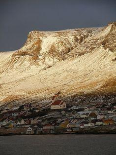 """Dozens of tiny hamlets dot the Faroe Islands, providing a glimpse of life in a land of extremes."" Faroe Islands"