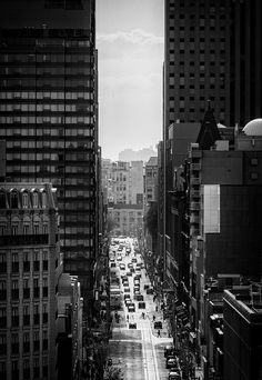 Richmond Street in Toronto - from Daily Dose of Imagery Photography And Videography, Art Photography, Travel Around The World, Around The Worlds, Ansel Adams, City Streets, Cool Photos, Places To Go, Skyline