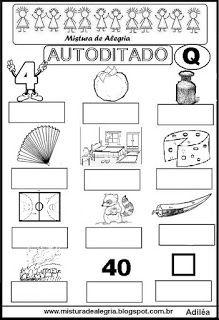Autoditado para alfabetização com a letra Q Preschool Writing, Pre School, Fathers Day, Homeschool, Gallery Wall, Frame, Mary, Language Activities, Writing Activities