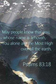Psalm 83:18