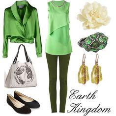 """Earth Kingdom"" by winterlake25 on Polyvore"