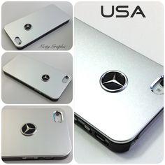USA Mercedes iPhone 5 Case with a Mercedes Benz Emblem. So fancy!