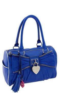 Betsey Johnson Handbags | betsey johnson blue bag