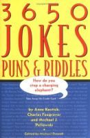 3650 Jokes Puns Riddles By Anne Kostick