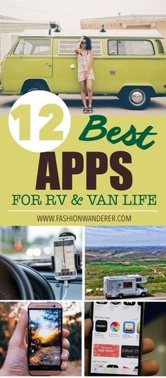 RVers love apps for convenience and help provided while on the road... checking for directions, a restaurant review, art gallery exhibit or scenic RV route