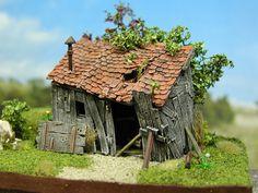 old hut (ruin) http://www.modellbauluft.de/Produkte/H0/H819-Anbauschuppen-3/H819_D01.JPG