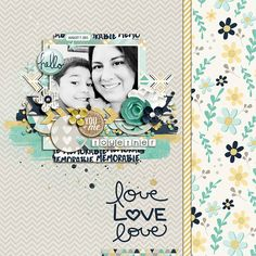 Scrapbook layout by mrsashbaugh using Pocket Life '15: January Kit by Traci Reed Designs available at the Sweet Shoppe. http://www.sweetshoppedesigns.com/sw...725&page=2  October 2014 Template Challenge by Tickled Pink Studio #digitalscrapbook