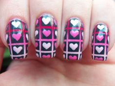 Meg's Manicures: Valentine #nail #nails #nailart