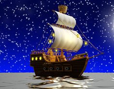 """Check out new work on my @Behance portfolio: """"Pirate Ship"""" http://be.net/gallery/40807643/Pirate-Ship"""