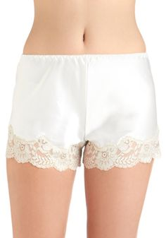 well...I wouldn't wear this *out*. but they're cute! Luxurious Lounging Sleep Shorts, #ModCloth
