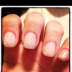 Natural nails that sparkle ;)