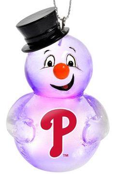Philadelphia Phillies Snowmen