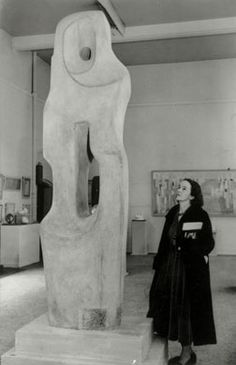Barbara Hepworth the most bad assest of sculptors.