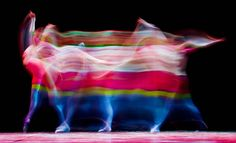 Ballet dancers eternalized in painting-like photographs