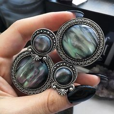 Still inlove with the new sacred Nebula Plugs ✨ shop your own at www.fuxjewellery.com #fuxjewellery