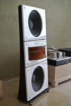 high end audio equipment for sale Open Baffle Speakers, Pro Audio Speakers, Audiophile Speakers, Sound Speaker, Hifi Audio, Built In Speakers, Room Acoustics, Speaker Plans, Acoustic Design