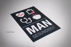 MAN Truck & Bus - Logo Gesundheitsdienst, Gestaltung: KW NEUN Grafikagentur