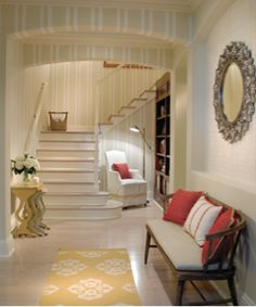 Beautiful hallway idea!