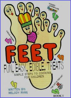 "Welcome to the world of ""Fun, Easy, Edible Treats""!  F.E.E.T. is a collection of recipes that are Fun and Easy for children to make, as well as being very delicious, Edible Treats, made from ingredients that children enjoy eating.  Eat and Enjoy!!!"