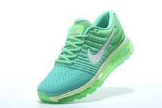 Free Shipping Only 69$ WMNS Nike Air Max 2017 Green Mint White Aqua Blue Voltage Green