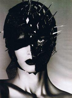 Junya Watanabe inspired headpiece