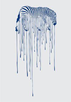 Art Zebra my-daily-inspiration Image Nice, Rain Art, Heart Art, Art Plastique, Art Photography, Illustration Art, Animal Illustrations, Graphic Design, Logo Design