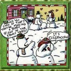 31 Hilarious Christmas Cartoons #christmashumor