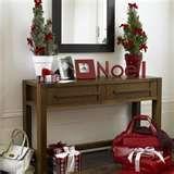 Sofa Table Christmas Decorating Ideas