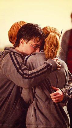 Daniel, Emma and Rupert Harry Potter Tumblr, Harry Potter Hermione, Harry James Potter, Ginny Weasley, Hermione Granger, Harry Potter World, Photo Harry Potter, Images Harry Potter, Mundo Harry Potter