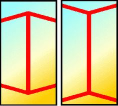 Take a very close look at the 2 vertical lines. Do you think one line is longer than the other?Actually these lines are the exact same length!