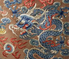 Court robe (image 3 - detail) | Chinese | 18th century | silk, metal | Metropolitan Museum of Art | Accession Number: C.I.47.11.2