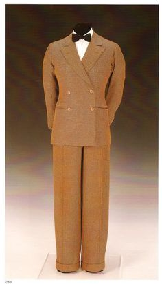 Jacket (Scholte, 1932.) Matching trousers (Forster & Son.)