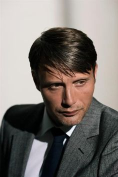 """Mads Mikkelsen, you bled from your eye. That's epic. Marry my sister so she can complain about your dirty smoking habit while we just laugh and laugh at her lack of sophistication and her threats of ""lung cancer""."" - written by my twin sister, Pretty in Punk"