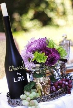 Ideas for a wine themed wedding (or other wine themed parties)!