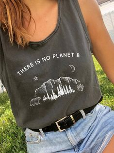ea37e76f74d There Is No Planet B - Beach Tank - Wholesome Culture Ethical Clothing