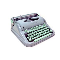 Hermes 3000 Swiss Typewriter, $364, now featured on Fab.